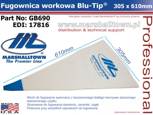 GB690 fugownica workowa Blu-Tip 305x610mm