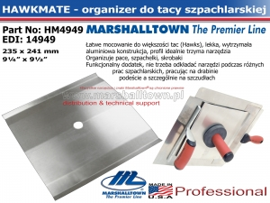 HawkMate HM4949 - organizer do tac
