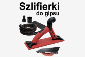 Szlifierki do gipsu
