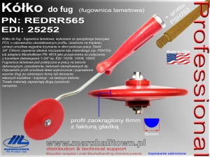 Kółko do fug REDRR565 - 6mm