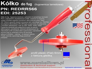 Kółko do fug REDRR566 - 6mm (flat)