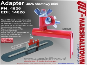 Adapter 4826 obrotowy mini do pac na gryfie